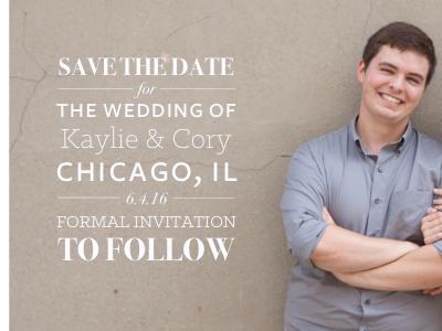Wedding Invitations freight sans bodoni wedding typography type invite