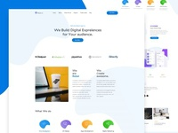 Rebel Digital Agency Landing Page
