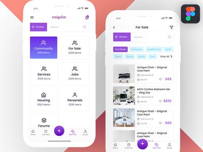 Craigslist App Concept