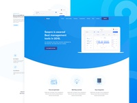 Management Software Landing Page