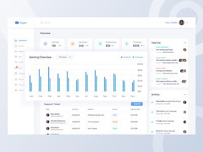 Management Dashboard Exploration design colorful flat sbshahria admin statistics app typography ux ui tasks interface data dashboard analytics dashboard crm charts analytics