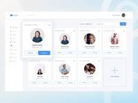 Dashboard - Clients Screen