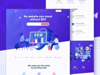 SEO Marketing Agency Landing Page