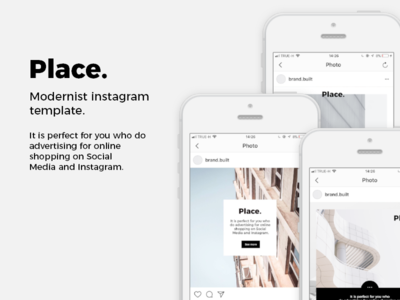 Place.me ~ 30 instagram template