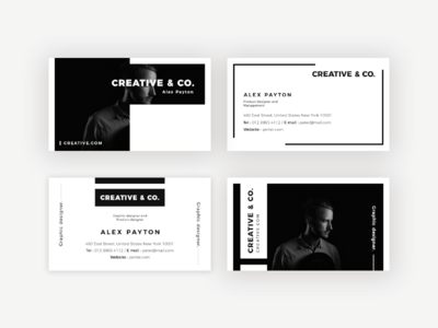 Professional look Business Card Design