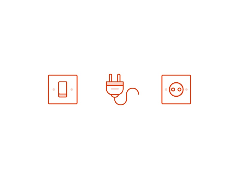 Electrical Icons By D Zyn K Dribbble Dribbble