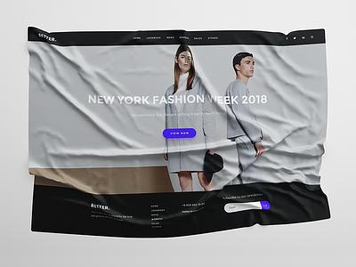 BETTER-WEB web ux ui store flat interface design clean