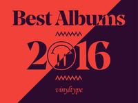 Best Albums 2016 — Vinyltype