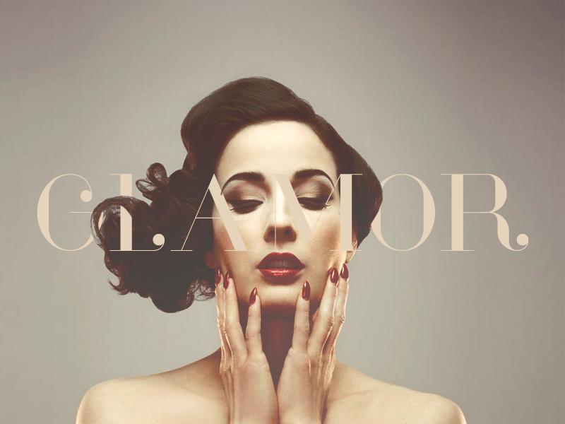 Glamor - Chic & Modern Free Type Family moinzek typeface glamor font family free fashion typography serif hendrick rolandez