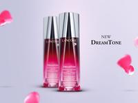 Lancôme — DreamTone lancôme paris dreamtone advertising art direction web design digital campaign moinzek hendrick rolandez skincare