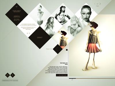 guilm creative portfolio template by hendrick rolandez dribbble
