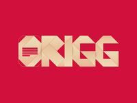 ORIGG - Logo branding