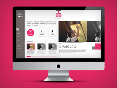 Cabete - Website webdesign french society france moinzek