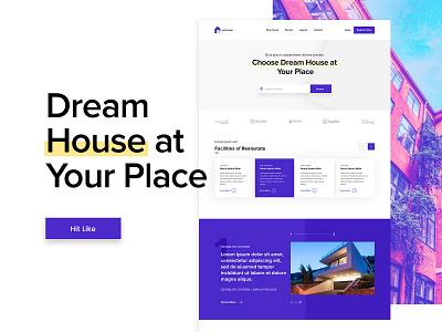 Website build website design flat