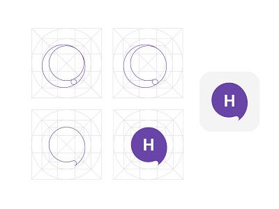 hangout logo logo design
