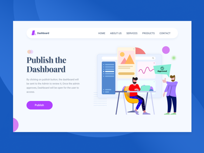 Landing Page Banner approval banner