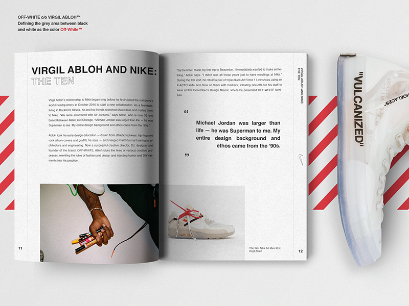 Virgil Abloh And Nike  The Ten Book By Arev