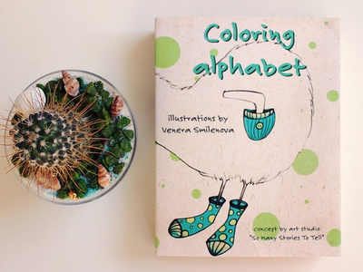 Coloring alphabet personal project childrens book coloring alphabet drawing coloring book illustration