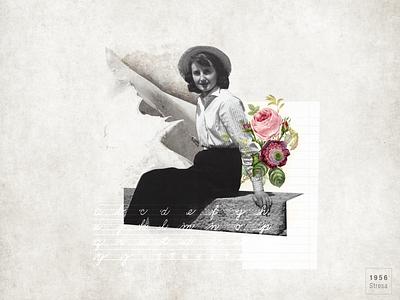 My Grandma design graphic vintage photo digitalcollage collageart collage