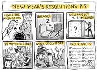 #7 Studio life: New year's resolutions (Part 2 of 2)