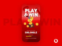 Play & Win Landing page