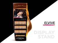 L'Oreal display stand