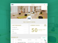 Yoga Startup - Booking Profile