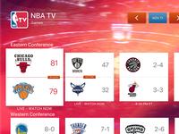 NBA  TV Design