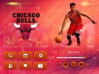 NBA  TV - UI Elements