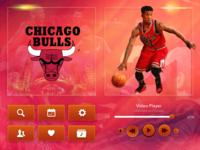 NBA  TV - UI Elements