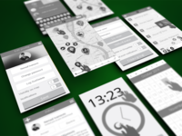 UX App Wireframes