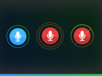 Voice Recognition - Audio Icons