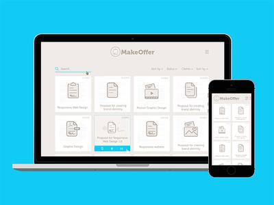 Make Offer Software UI UX