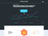 Career Dashboard Infographic