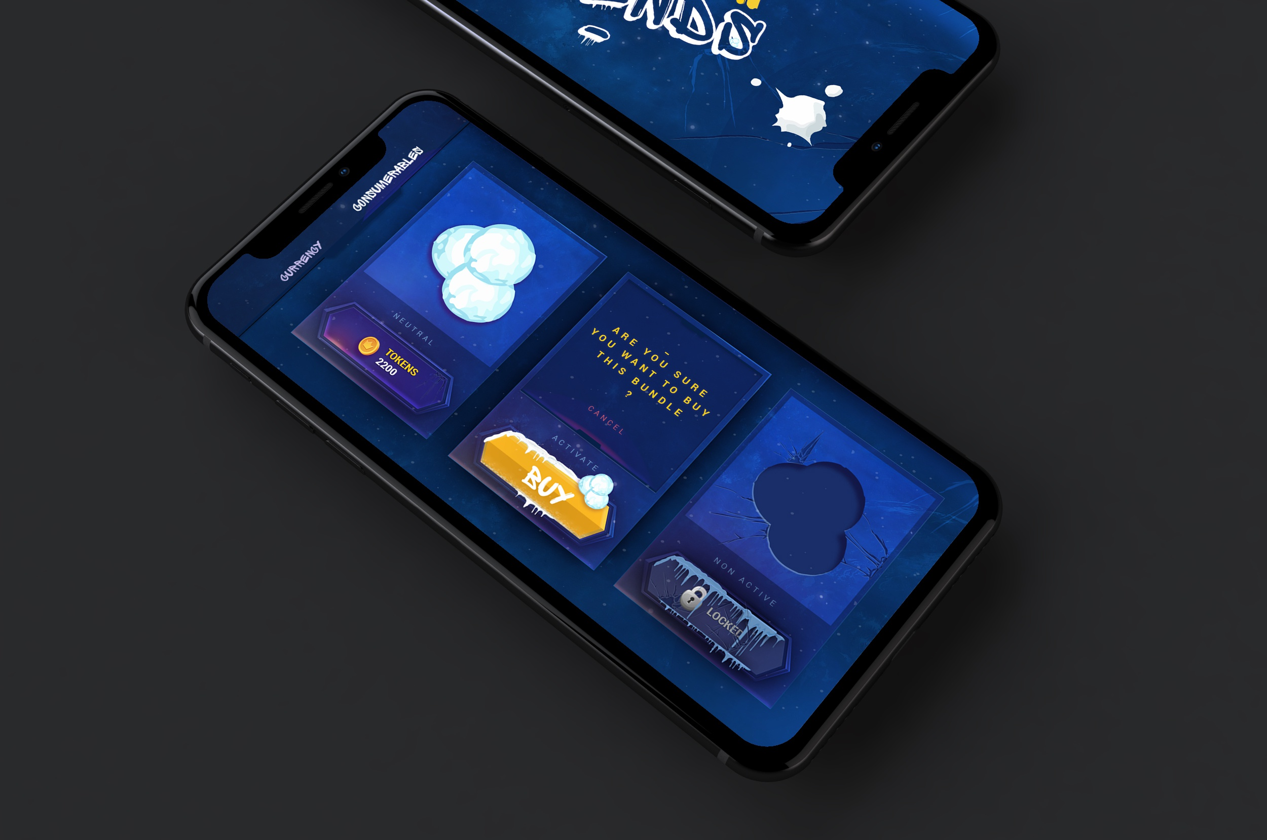Nenad ivanovic iphonex iphone x ten game ui ux big