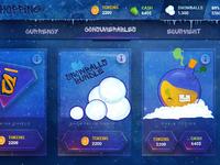 Snowbombing ui design