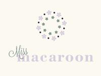 Miss Macaroon Logo Design