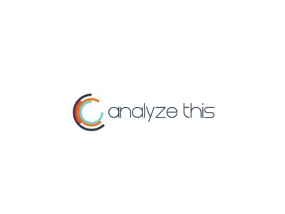 Analyze This Logo analytics statistics analyze graph logo circle