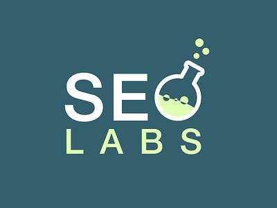 Seo Labs Logo seo lab logo bubbles clean simple