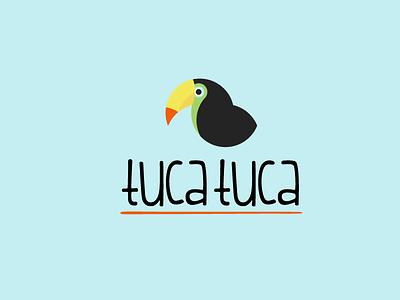 Tuca Tuca Logo bird logo black circle design tucan zoo