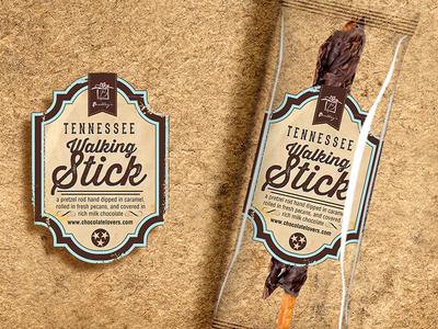 Tennessee Walking Stick Label