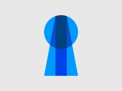 Keycard logo mark concept keycard sso logo