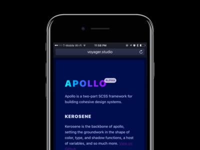 Apollo (Alpha)