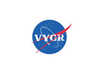 Voyager Meatball Logo logo space meatball logo nasa