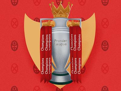 Premier League Champions soccer celebration trophy premier league football liverpool fc liverpoolfc lfc