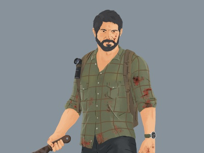 The Last of Us Part 1 naughty dog ps4 playstation sony illustration drawing tlou the last of us