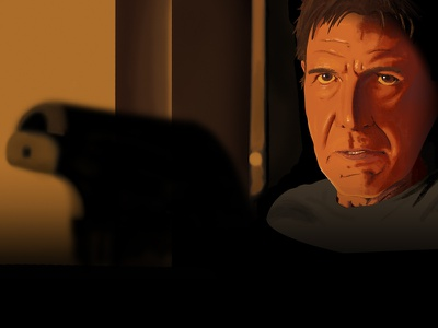 Blade Runner2049 blade runner blade runner 2049 harrison ford drawing art painting illustration