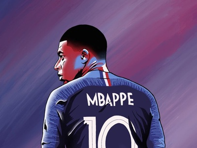 Mbappe world cup soccer football psg france mbappe