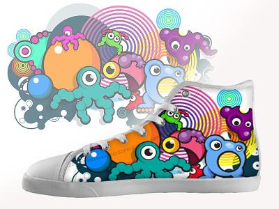 Shoe Pattern 1 vector design illustration