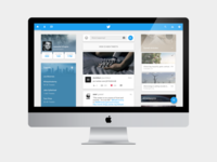 Twitter Web Redesign